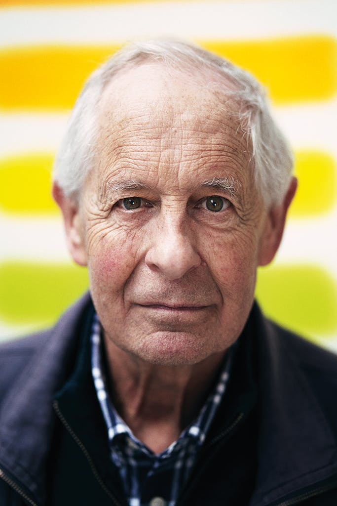 David Nash (b. 1945) photographed at his home in Lewes, East Sussex, in May 2019. Photo: Benjamin McMahon