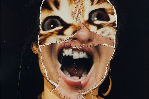 GRIMA – Self with Cat (The Scream) (1986), Annegret Soltau.
