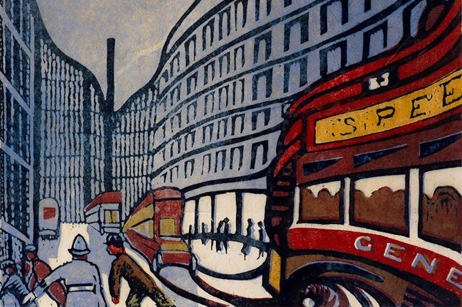 Speed (1922), Claude Flight.