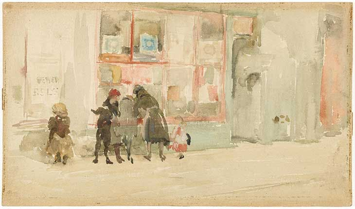 Chelsea Children (c. 1897), James McNeill Whistler. Freer Gallery of Art
