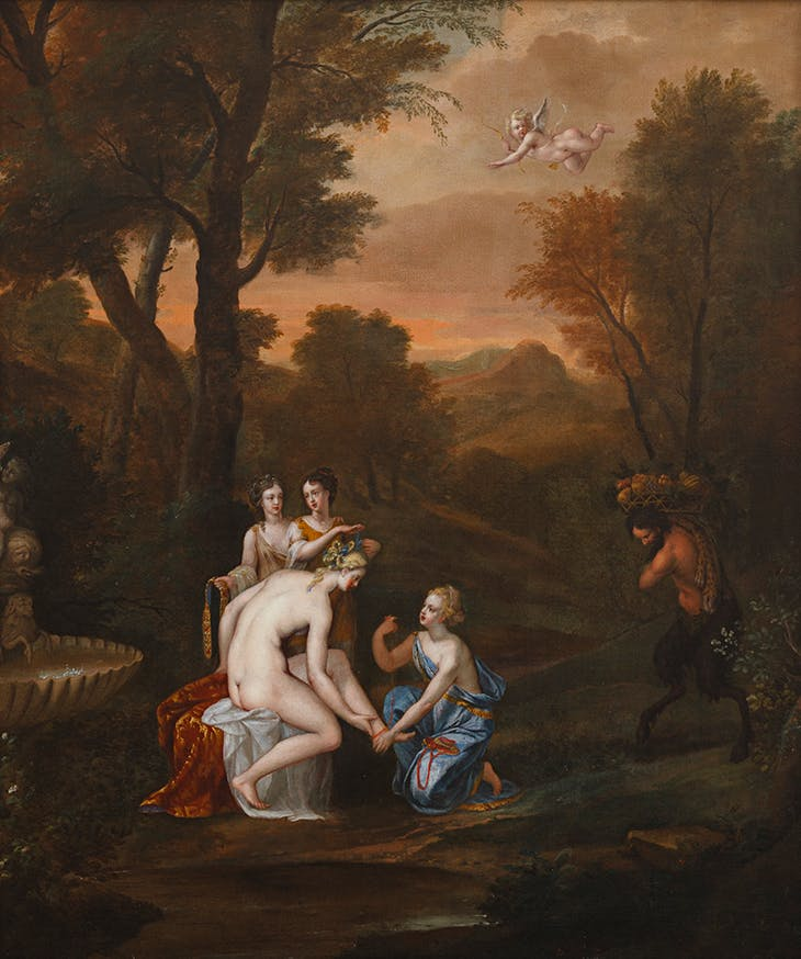 Venus Attired by the Graces Anne Killigrew. Falmouth Art Gallery