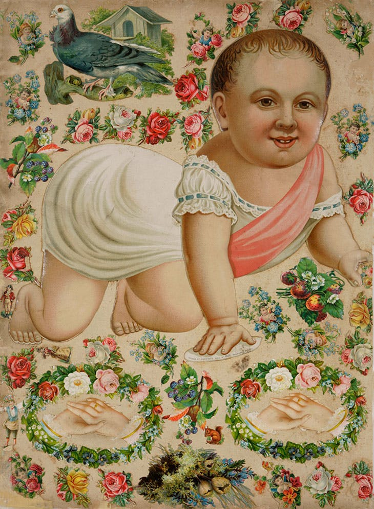 Baby (c. 1890), unknown artist.