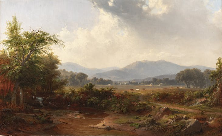 Short Mountain, Hawkins County, Tennessee (c. 1852), Robert S. Duncanson.