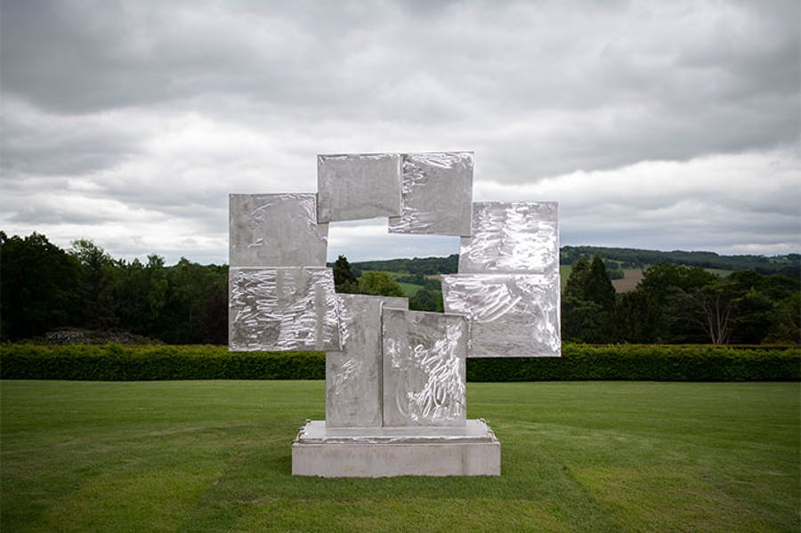 Untitled (Candida) (1965), David Smith. Installation view at Yorkshire Sculpture Park, 2019.