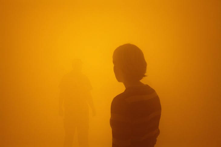 Din blinde passager (2010), Olafur Eliasson, installation view at ARKEN Museum of Modern Art, Copenhagen, 2010.