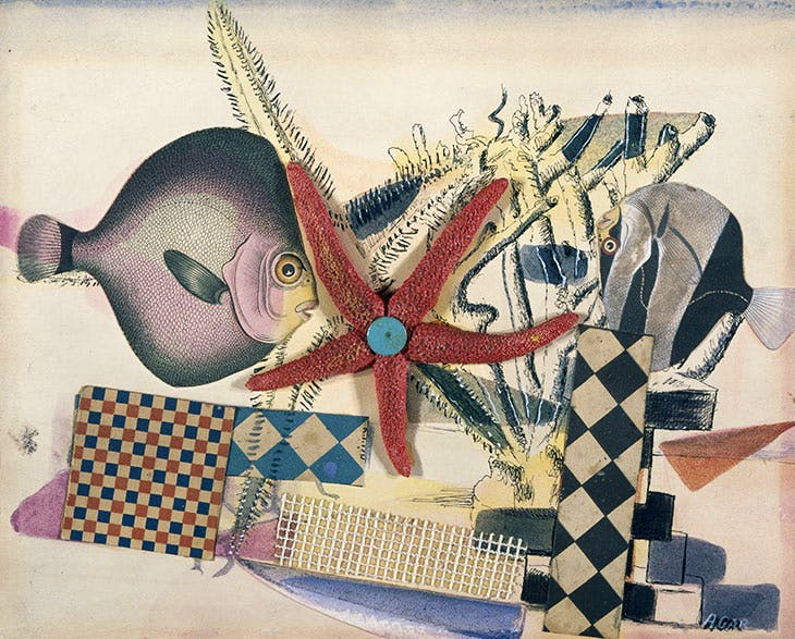 Fish Circus (1939), Eileen Agar. National Galleries of Scotland.