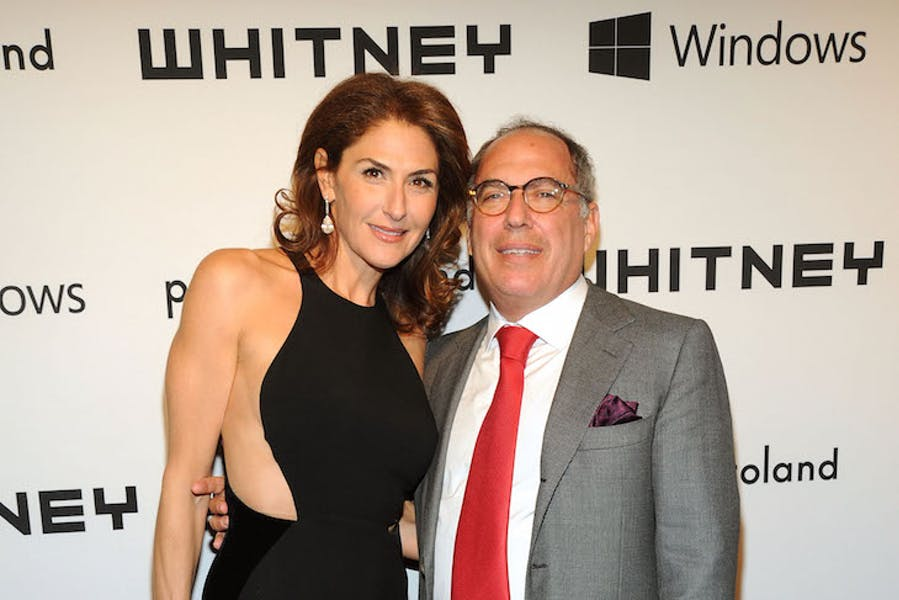 Warren Kanders and Allison Kanders at the Whitney Gala 2012.