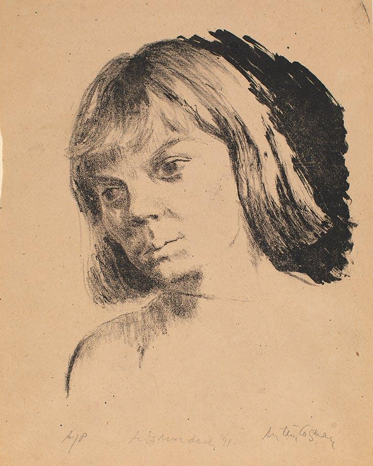 Iris Murdoch (1940), Milein Cosman. The Hunterian Musuem and Art Gallery, University of Glasgow. © Milein Cosman