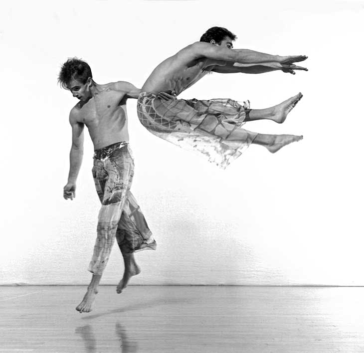 Set and Reset (1983), Stephen Petronio and Lance Gries.