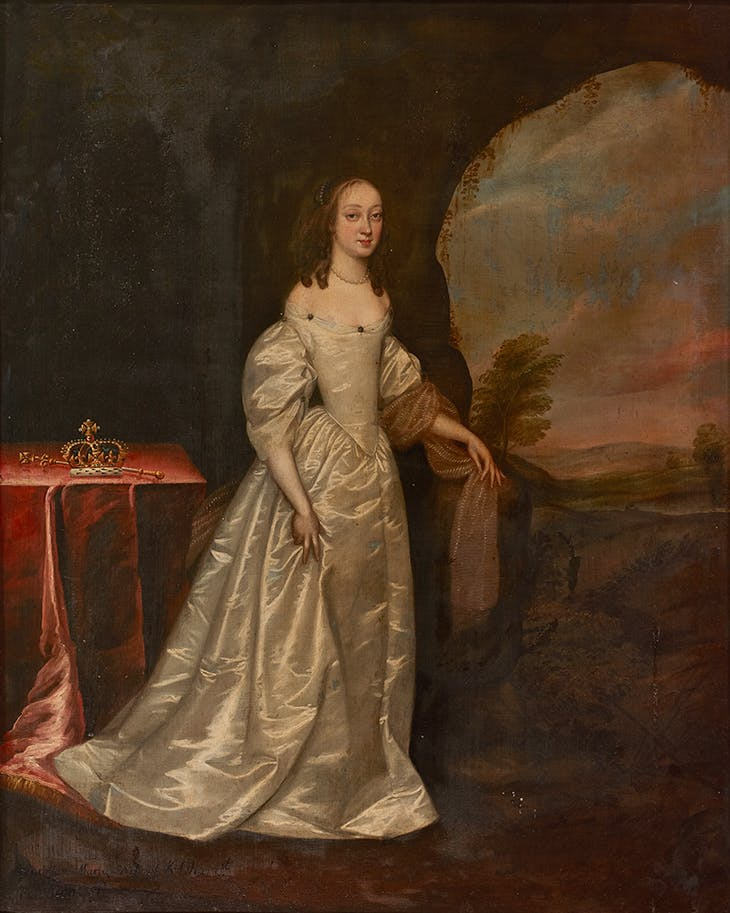 Portrait of a Lady (1650s), Joan Carlile. Mellerstain House