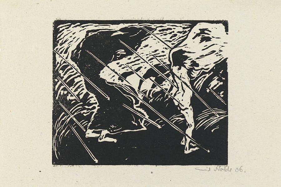 The Storm (1906), Emil Nolde.