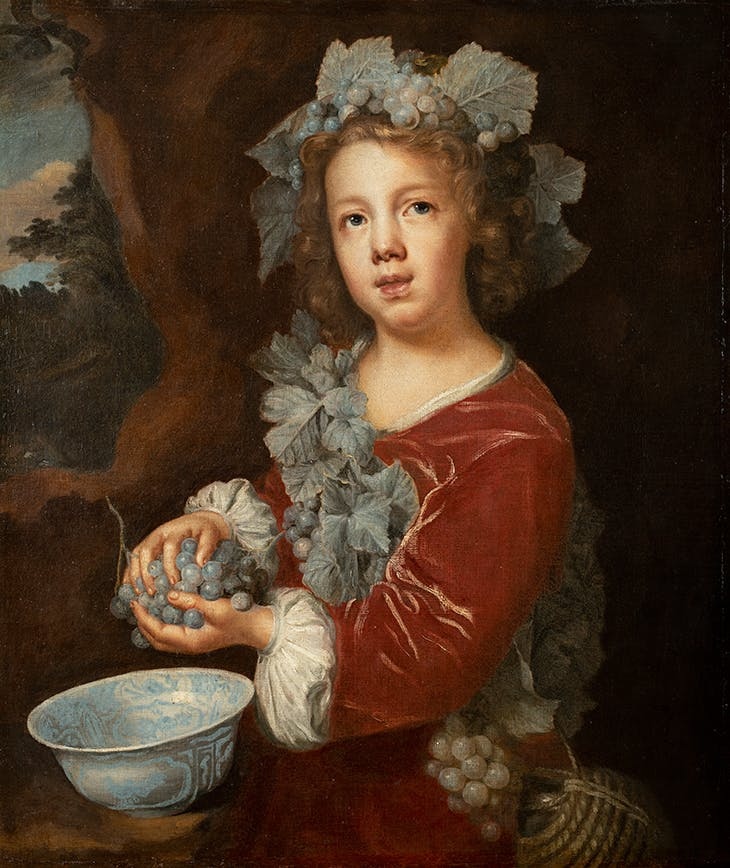 The Young Bacchus (1660s), Mary Beale. Moyse's Hall Museum