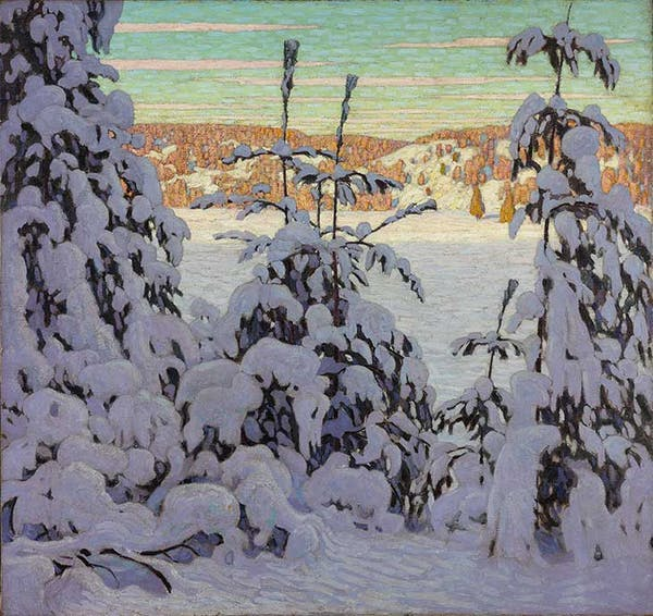 Snow II (1915), Lawren S. Harris. National Gallery of Canada, Ottawa.