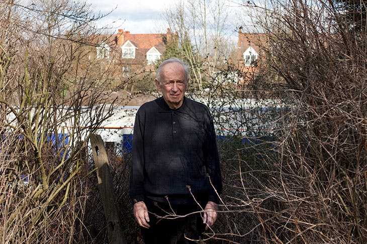 Leon Kossoff. Photo: © Toby Glanville; courtesy Annely Juda