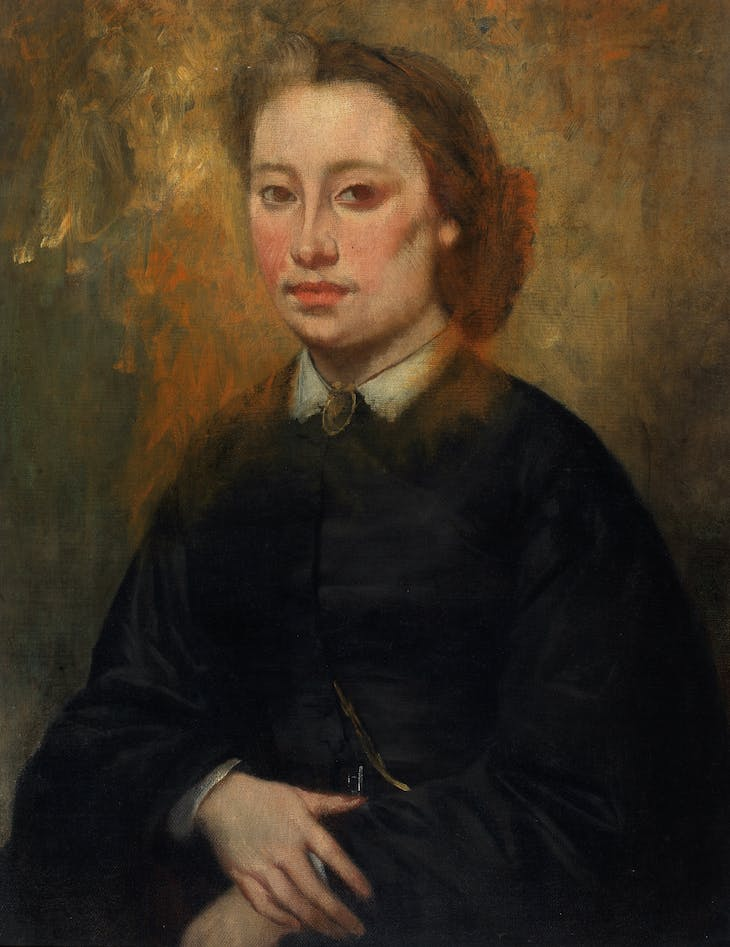 Portrait of a Woman (1850–80), French School.