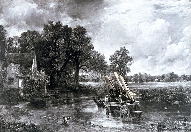 Haywain with Cruise Missiles (1980), Peter Kennard. Victoria and Albert Museum, London