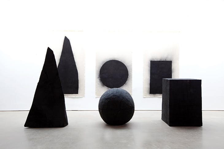 Pyramid, Sphere, Cube (1997–98), David Nash. Tate, London.Photo: Jonty Wilde; © David Nash