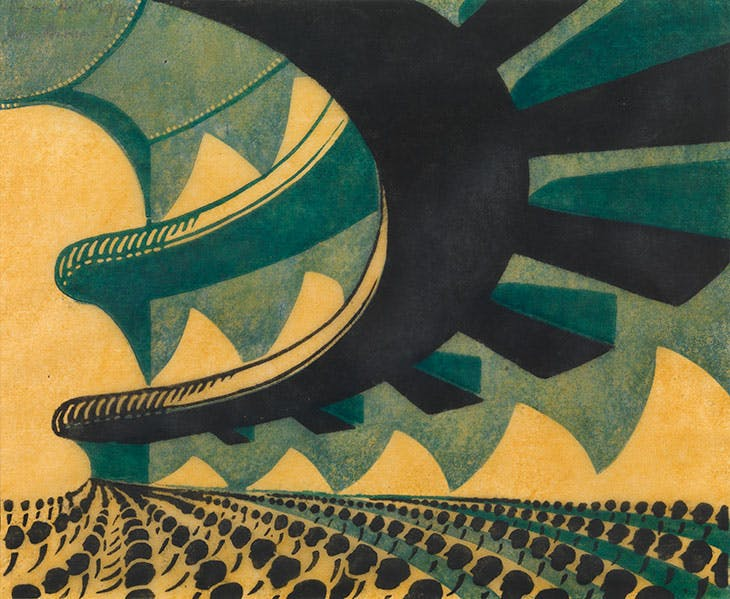 Concert Hall (1929), Sybil Andrews.