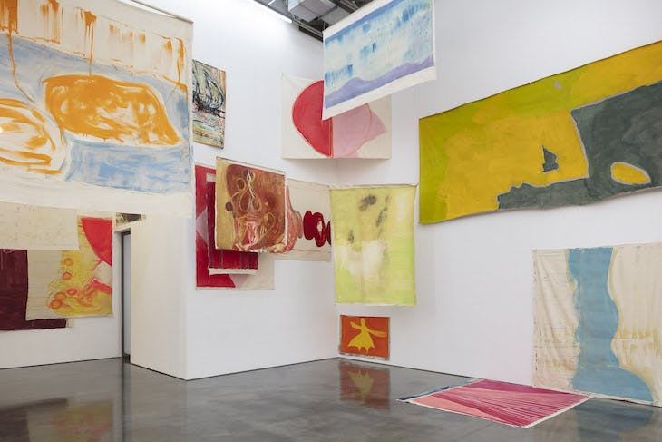 'Vivian Suter', Installation view, Gladstone Gallery, New York, 2019.