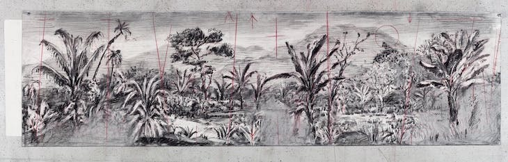 Drawing from The Head and the Load (2018), William Kentridge.