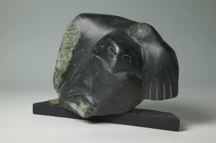 Carving (Owl) (before 1976), Canada.