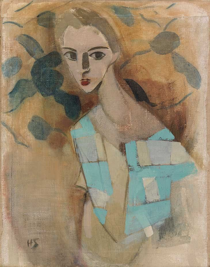 Girl from Eydtkuhne II (1927), Helene Schjerfbeck. Finnish National Gallery/Ateneum Art Museum.