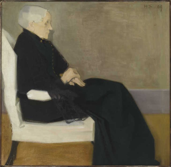 My Mother (1909), Helene Schjerfbeck.