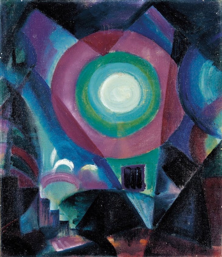 Circle of Light (1915), Johannes Itten.