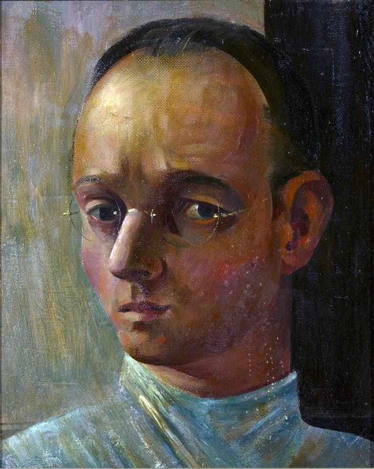 Self-portrait (1928), Johannes Itten.