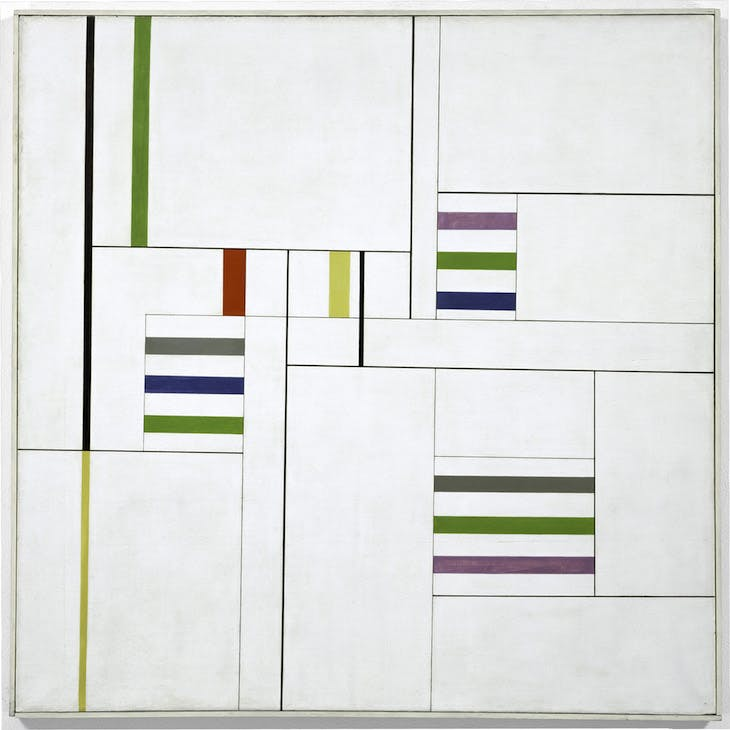 Chromatic Rhythms III (1949), Alfredo Hlito.