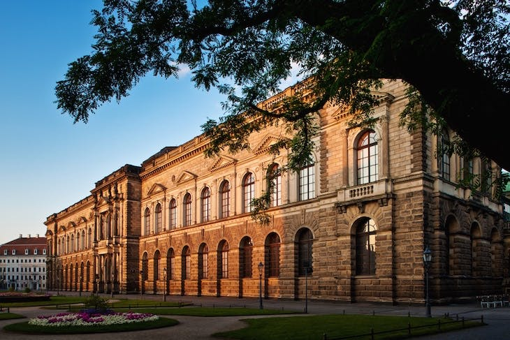 The Old Master Picture Gallery of the State Art Collections, Dresden.