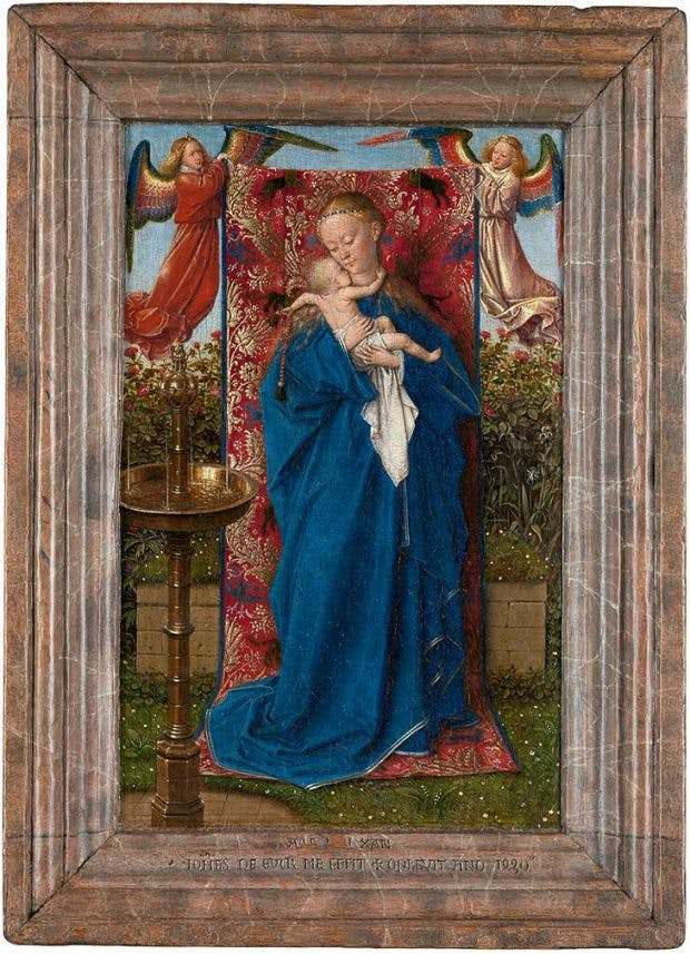 Madonna and Child at the Fountain (1439), Jan van Eyck. Royal Museum of Fine Arts, Antwerp