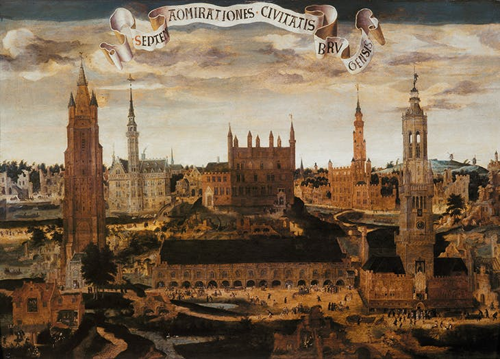 The Seven Wonders of Bruges (c. 1550-60), Pieter Claeissens the Elder.