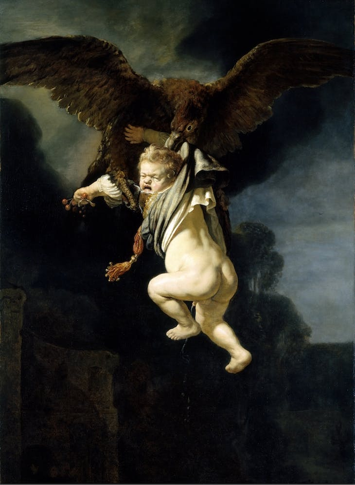 The Abduction of Ganymede (1635), Rembrandt.
