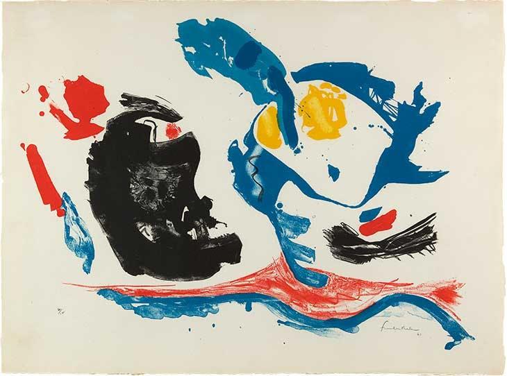 First Stone (1961), Helen Frankenthaler.