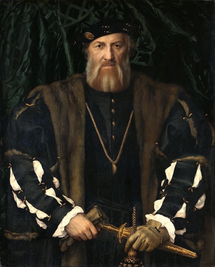 Charles de Solier, Lord of Morette (1534/35), Hans Holbein the Younger.