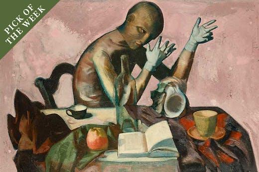 Gliederpuppe (1948), Wilhelm Lachnit.
