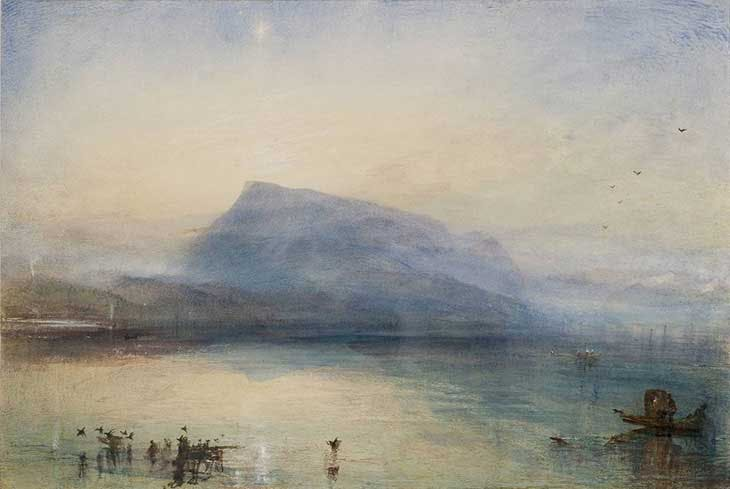 Blue Rigi (1942), J.M.W. Turner. Tate, London