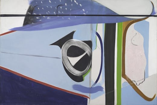 Clevedon Bandstand (1964), Peter Lanyon.