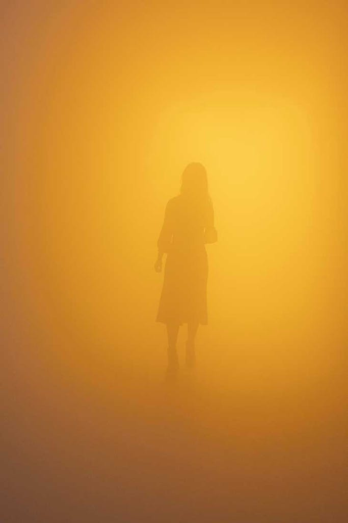 Din blinde passager (Your blind passenger) (2010), Olafur Eliasson. Installation view of 'Olafur Eliasson: In real life', Tate Modern, London, 2019.