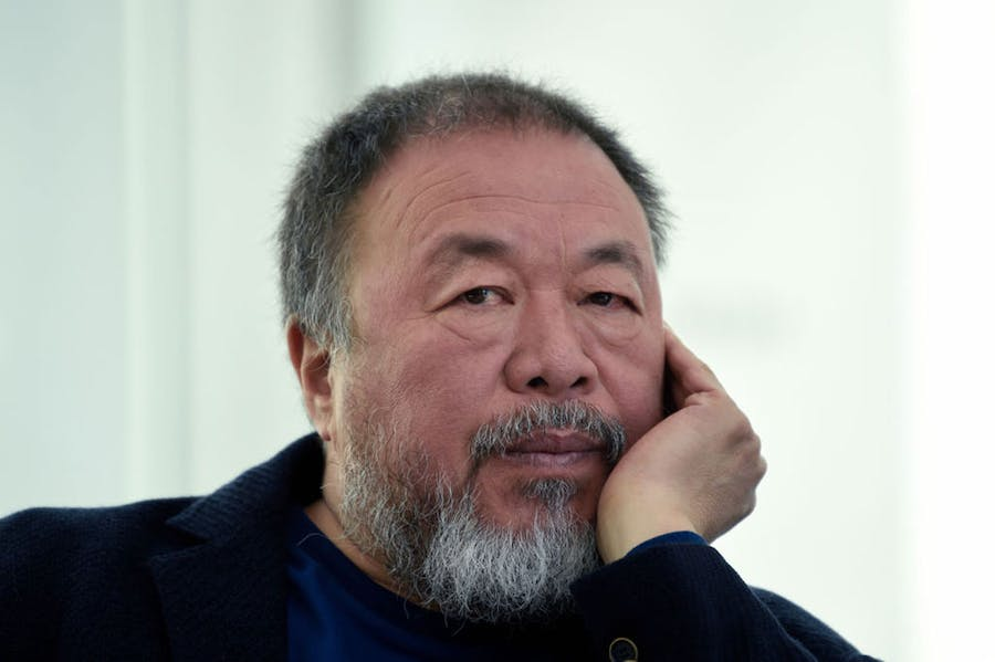 Ai Weiwei, photographed in Mexico City in 2019.