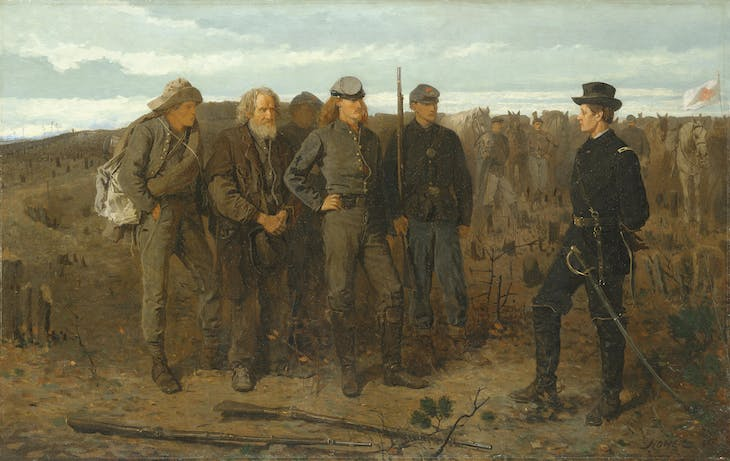 Prisoners From the Front (1866), Winslow Homer.