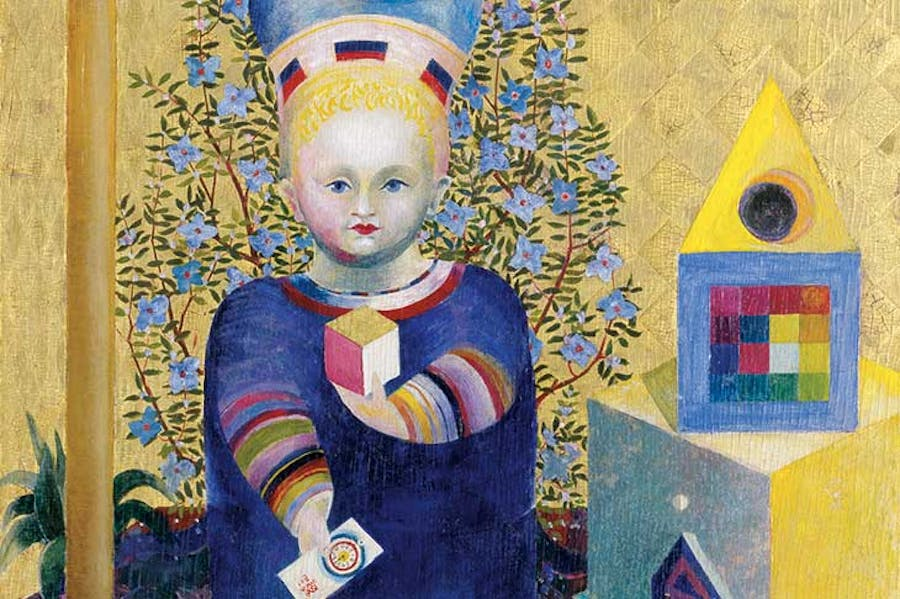 Child (detail; 1921/22), Johannes Itten.