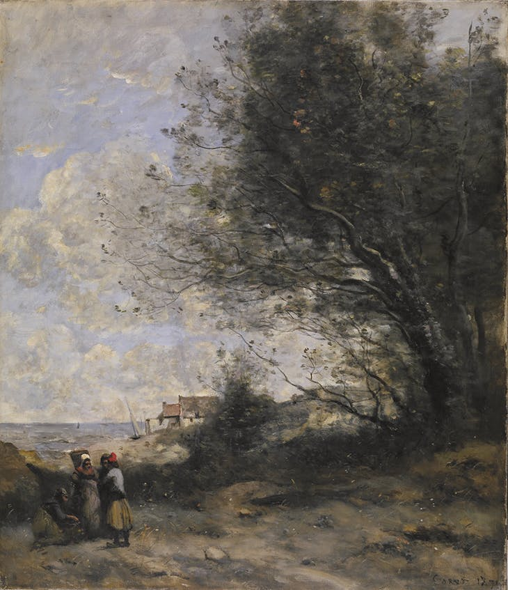 The Fisherman's Cottage (1871), Jean-Baptiste-Camille Corot. Walters Art Museum, Baltimore