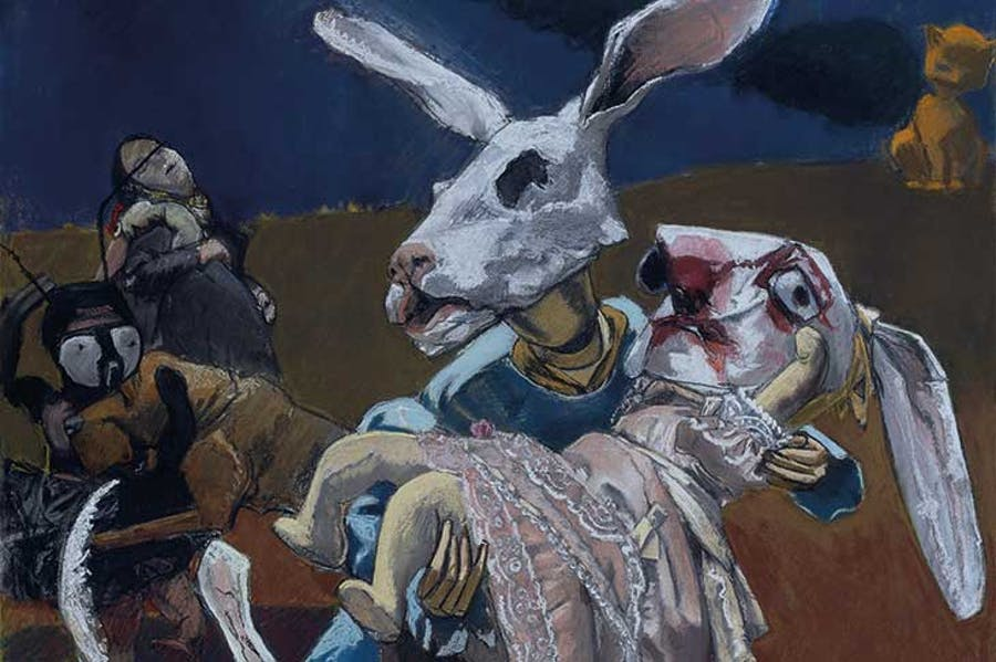 War (detail; 2003), Paula Rego.