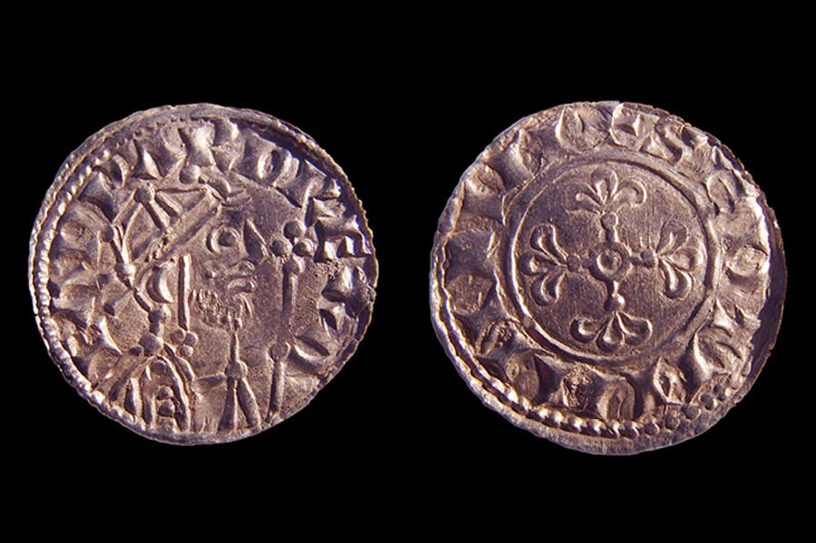 Coins from the 2,528-strong Chew Valley hoard, found in January. Image: British Museum