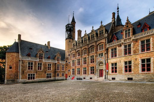 The Gruuthusemuseum in Bruges (pre-2014).
