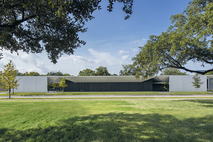 The Menil Drawing Institute at the Menil Collection in Houston, Texas, designed by Johnston Marklee