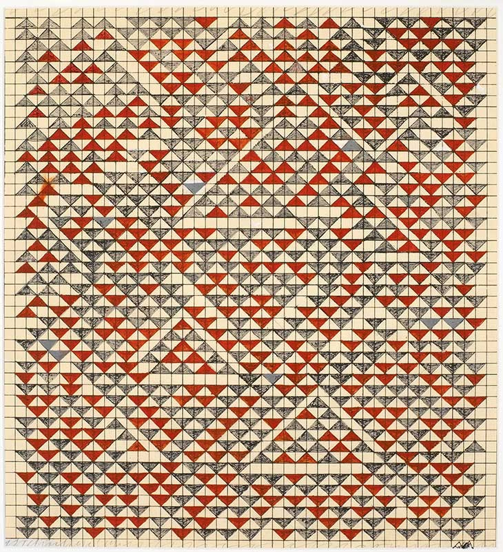 Study for Camino Real (1967), Anni Albers.