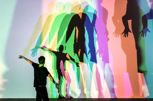 Your uncertain shadow (colour) (2010), Olafur Eliasson. Thyssen Bornemisza Art Contemporary Collection, Vienna.